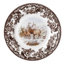"Spode Woodland 10.5"" Elk Dinner Plate SPD1921"